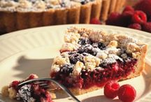 Raspberry Tart / In search of the raspberry tart they used to carry at Say Cheese. I will try all of these recipes until I can recreate it.