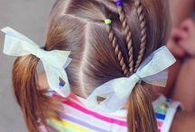 Peinados de niña bebé