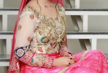 bridal make up and outfit