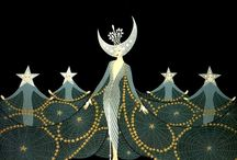 INCOMPARABLE ERTÉ / Romain de Tirtoff(23 November 1892 – 21 April 1990) was aRussian-bornFrenchartistand designer known by thepseudonymErté, from the French pronunciation of his initials (pronounced:[ɛʁ.te]). He was a diversely talented 20th-century artist and designer who flourished in an array of fields, includingfashion,jewellery,graphic arts,costumeandset designfor film, theatre, and opera, andinterior decor.