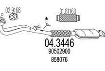 OPEL VECTRA B (36_)2.0 i 16V (136Ch)