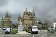 La route des châteaux en Haute Bretagne