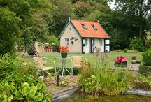 Beautiful green gardens