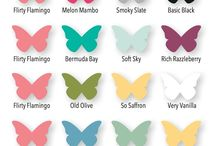 Color Combinations / Cool and Stampin' Up! color combinations