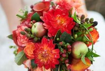 Fruit in Wedding Decor / Are you looking to add a little flavor to your wedding decor? Why not do it it literally…with fruit! Fruits come in an abundance of bright, cheerful colors, and along with their sweet scents they're perfect for wedding decor.