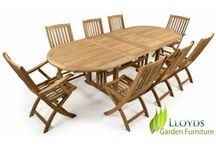 Teak Garden Furniture / Classic or Modern Outdoor Garden Furniture,