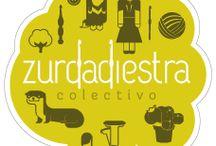 Zurdadiestra crochet / Zurdadiestra, diseño de personajes, elementos de decoración y muñecos en crochet, basados en la Flora, Fauna y Pueblos Originarios de Chile.
