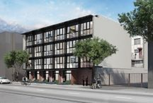 Cordovan / East Van flats and two-storey homes with light, open interiors and extras like rooftop decks and your own front door. Only 24 homes available.