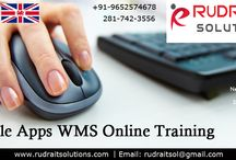 oracle WMS Training / Rudra IT Solutions is one of the Promote leading IT Services and Oracle Apps  WMS  corporate training solutions along with IT Online training conservatory, with latest Industry offering technology in Hyderabad, Pune, Chennai, Mumbai, banglore,India, USA, UK, Australia, New Zealand, UAE, Saudi Arabia,Pakistan, Singapore, Kuwait.   http://www.rudraitsolutions.com/oracle-apps-r12/oracle-warehouse-management-system-wms.php