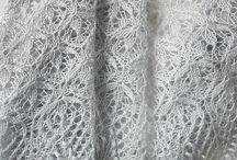 Knitted wedding shawls :: chales de novia de punto