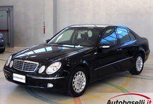 MERCEDES E220 CDI DEL 2003, SOLO 104.000Km, UNICO PROPRIETARIO DEL 1946