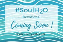 Soul H2O Devotional / Get ready for the upcoming Book Release on October 3, 2016 40 Thirst Quenching Devotions for Women  Quench your spiritual thirst with refreshing devotions taken form the Soul H2O blog.  Throughout the short devotions, Sherry weaves relatable experiences, making biblical truths simple.  Each one ends with a power-packed prayer followed by a list of scriptures to fill up your well.
