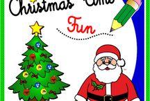 CHRISTMAS TIME FUN! / Christmas ESL teaching resources http://www.teachenglishstepbystep.com/christmas-time-fun.html