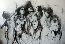 Drawings, Studies, graphic art