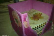 šablony z papíru / skládání papíru