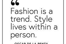 Fashion motivation