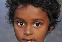 Portraits d 'enfants