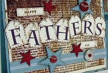 My Papercraft Inspiration - Father's Day / Ideas for Father's Day cards