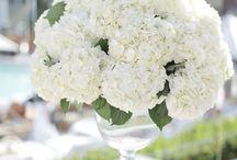 Festive Floral / Beautiful, lush, floral arrangements for the modern bride.
