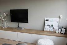 Nieuwe woning - tv hoek