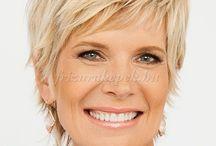 short hair 50 year old women