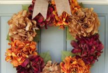 Holiday: Thanksgiving Wreaths