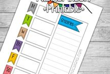 Planners- Free Insert Printables