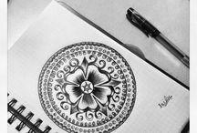 Mandala tekeningen