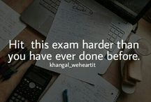 Exam motivation