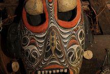 Maschere di varie Culture