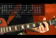 Rush Guitar Lesssons / Some guitar lessons on how to play Rush songs in HD