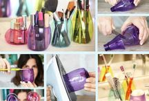 Plastic bottles reuse