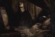 gloomy paintings