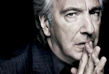 Alan Rickman / An incredibly gifted actor from stage and film.