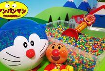 アンパンマン アニメ❤おもちゃ ドラえもんSTAND BY ME 3Dおもちゃから飛び出せ!
