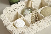 lace spa basket