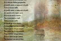 Poésie FLE / poésie française de tous les temps