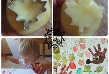 PODZIM / Inspirace pro podzimní tvoření s dětmi v Klubu rodičů a dětí v Salesku