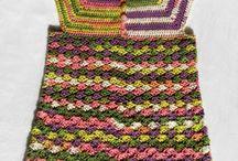 Crochet - Girls tops