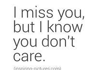 Tęsknię za tobą