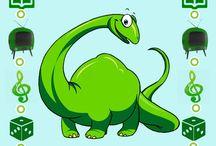 Thema dinosaurus