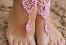 adornos para pies....