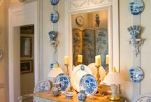Blue and White / Delft and more / by Connie Guenther
