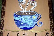 Canvas art - coffee