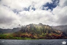 "Kauai / Kauai is part of the chain of island that make up Hawaii. It's nickname is ""the Garden Isle""."