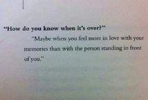 Thoughts of love! / Memories ? Hope?  Musings...