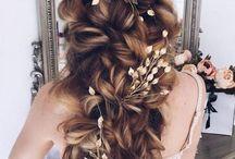 mahendi hairdo