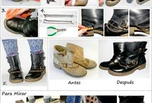 botas y ropas