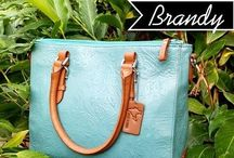 Satchel / Handcrafted leather satchel bags