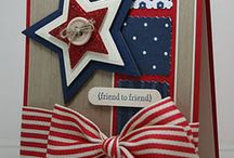 Cards-patriotic / by Cindy Hehmann